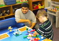 private special education school nj - Felician School students in classroom